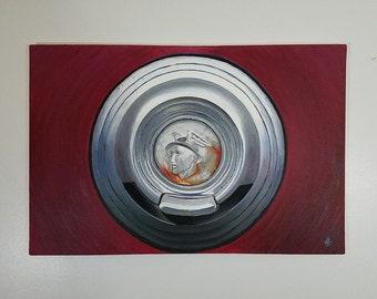 """Oil Painting, Original, """"Mercury,"""" 24 x 36"""""""