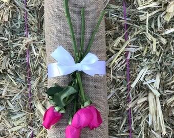 40 cm x 10 metres Burlap/Hessian Fabric ~ DIY Wedding Runners/Decor