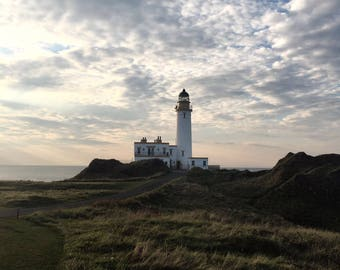 Turnberry Lighthouse, Scotland, Scottish Photography, Wall Art, Scotland Print, Scotland Landscape, Lighthouse