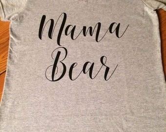 Mama bear - Ladies shirt