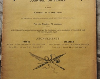 L'ILLUSTRATION JOURNAL 1899