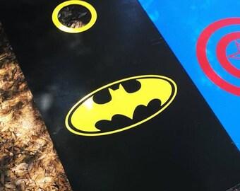 Batman Cornhole Set With Bags