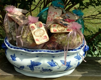 Summer or Winter Premium dried flowers Potpourri bags~
