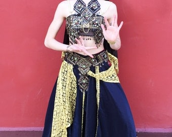Indian Tribal Dance Costume
