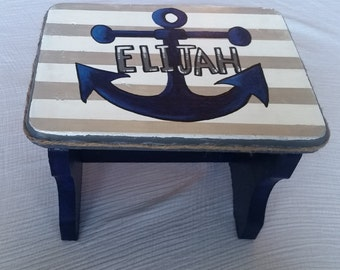 Nautical Bath Stool