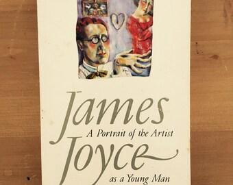 James Joyce Book - Vintage 'A Portrait of an Artist as a Young Man'