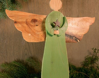 Angel, Wooden Angel, Rustic wood angel