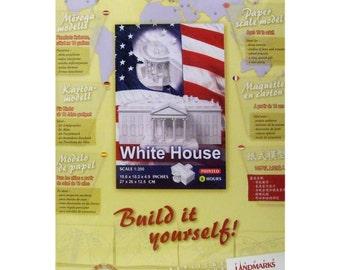White House Paper Model Kit