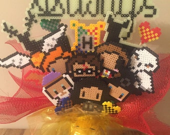 Harry Potter Perler Bead Bouquet