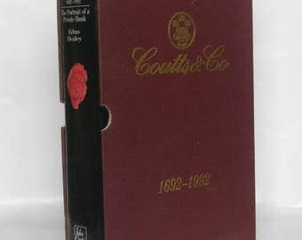 Coutts and Co. Edna Healey. Signed by Chairman.