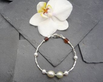 Gold Pearls form South sea