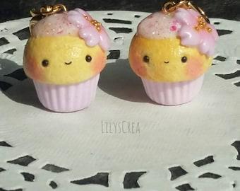 Kawaii cupcake cherry blossom