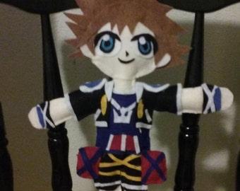Free Shipping Kingdom Hearts Sora plush