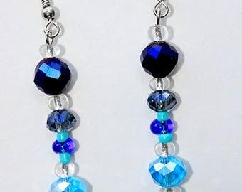 Stories of Blue Earrings