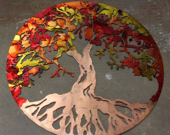 Tree Of Life, Tree Wall Art, Tree Art, Wall Art, Metal Tree