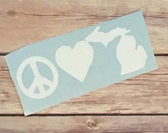Peace, Love and Michigan