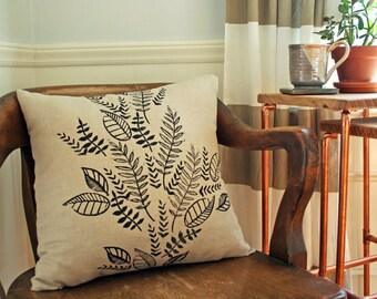 Ferns & Leaves Pillow