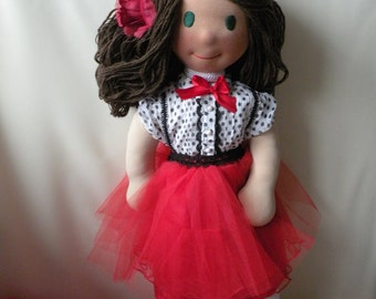 Clarice by Malina Dolls - New Unique Handmade Doll