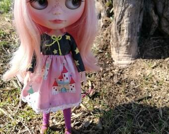 Princess Dress for blythe doll-dress Princess for blythe doll.