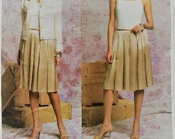 Vogue American Designer sewing pattern 2793 - Oscar de la Renta Misses' petite jacket and skirt