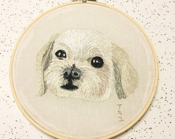"6"" Made-to-order Dog Pet Portrait"