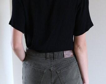 Original Lee Pants/Jeans- Military Green- Size 26 waist