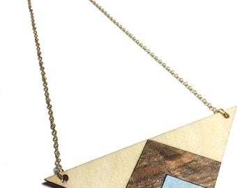 Arrowhead Wood Necklace