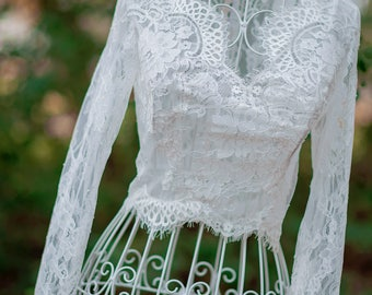 Wedding toppers, Chantilly lace bolero, wedding lace boleros, wedding boleros, wedding dress boleros and shrugs. It#B08