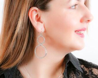 Diamante Encrusted Earrings