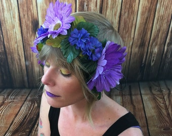 Floral Headband / Flower Crown