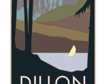 Dillon Colorado Poster