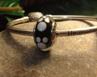 Pandora Disney Classic Mickey Charm High Fashion Genuine Designer Sterling Silver Charm/Bead Free Velvet Pouch Bag