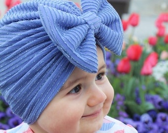 Turban Hat with Bow