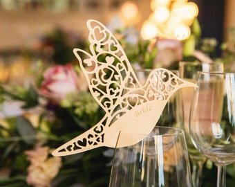 Personalised Wooden Place Settings