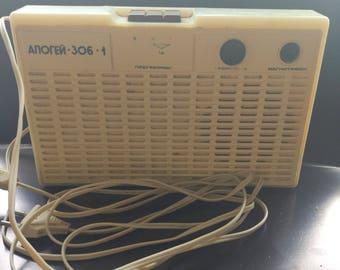 Soviet radio Apogee 306-1