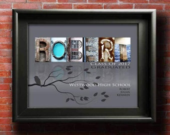 Graduation Gift, DIGITAL, Personalized High School Graduation Gift, Graduation Gift For Her Him Son Daughter Niece Nephew Grandson PRINTABLE