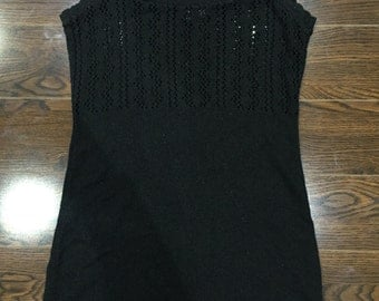 Knitted Spaghetti Strap Dress