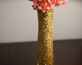 3 Glitter Centerpieces, Glitter Vases, Glass Vases, Wedding Centerpieces, Bridalshower Centerpieces, Babyshower Centerpieces