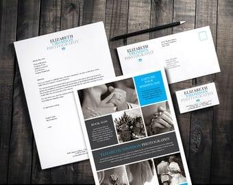 Marketing Logo Kit, Branding Kit, Photographer Logo, Business Branding, Photography Marketing Kit, Branding Package, Marketing Package, Logo
