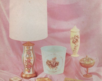The Art of Decoupage Magazine 1966 Tools Supplies and their Uses