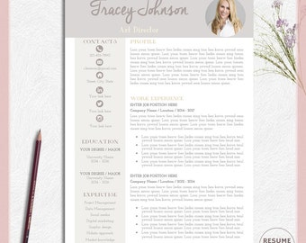 Clerical Resume Sample Word Free Resume Template  Etsy Nursing Resume Templates Excel with Sample Resume For High School Student With No Experience Excel Resume Template Word Resume Design Word Professional Resume Template  Professional Cv Template Completely Free Resume Excel