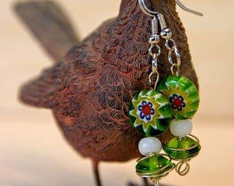 Sweet Green Earrings