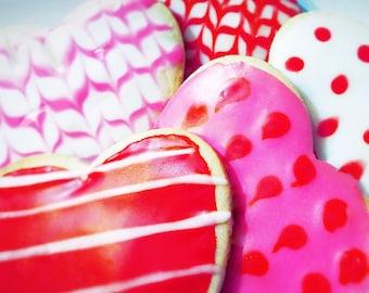 Organic Heart Cookies