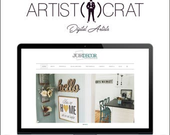 Wordpress Website Design, Website Design, WordPress, Blogger Website, 5 Page Website, Custom Website Design, Business Website
