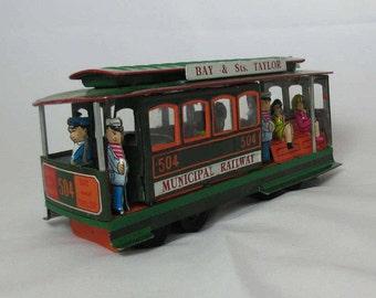 Toy Trolley Car