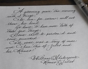 Handwritten Letters Your text, my handwriting
