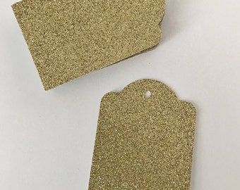 Glitter Gift Tags, Gift Tags, Wedding Favor Tags, Present Tag, Bridal Party Tag, Wedding Decor, Party Decor, Party Tag, Present Label, Favor