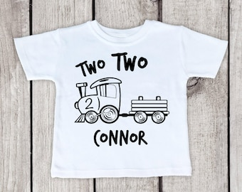 Shirt For A 2 Year Old, shirt for a two year old boy, shirt for a two year old, two year old shirt, two year old train shirt