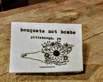 bouquets not bombs seed bombs