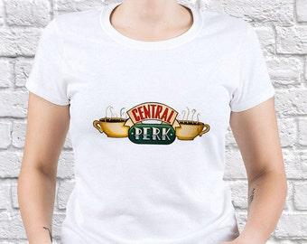 Friends/ Freinds TV Show/ Womens tshirt/ Central Perk tshirt/ Roommate tshirt/ Best Friends tshirt/ Friends Clothing/ Funny tshirt/ (FR02)